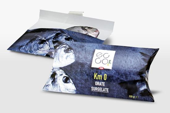 """Packagingbeispiel """"Fisch"""""""
